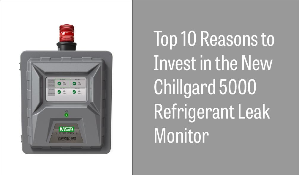 MSA Chillgard 5000 Refrigerant Leak Monitor
