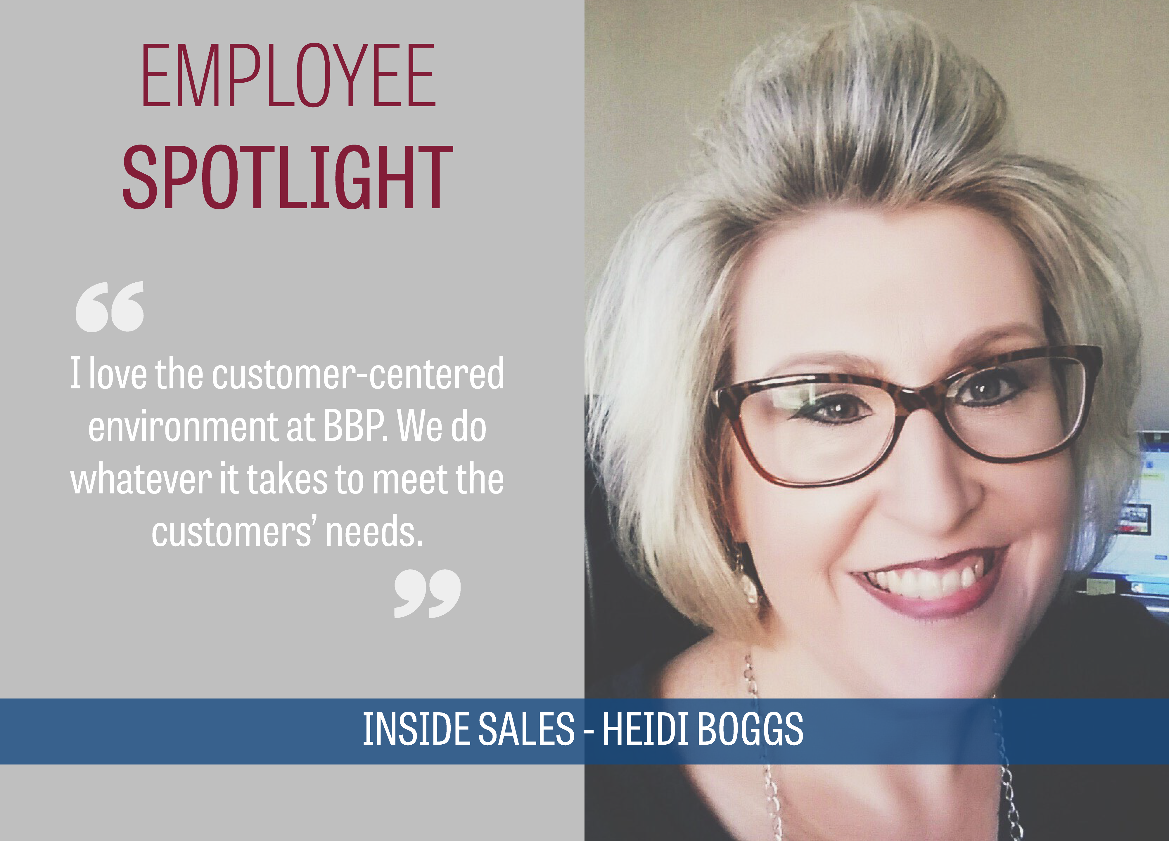 BBP Employee Spotlight Heidi Boggs