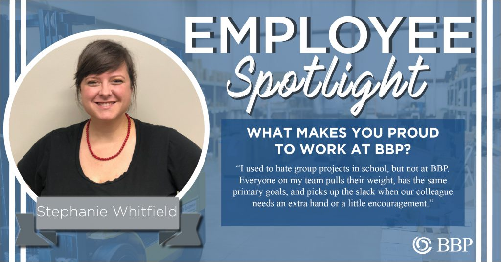 employee spotlight  stephanie whitfield