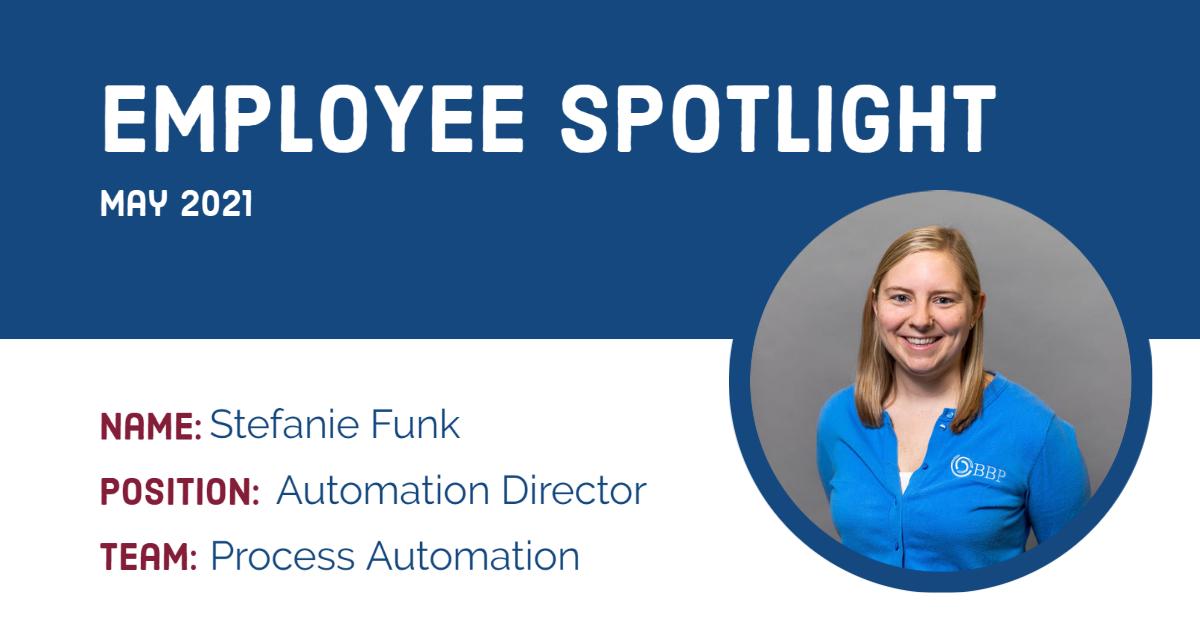 Employee Spotlight Stefanie Funk